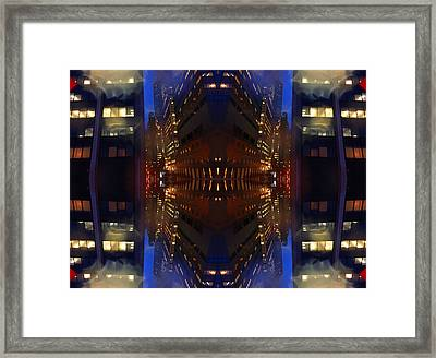 Framed Print featuring the digital art Jewelsofthecity 10 by Karni Dorell