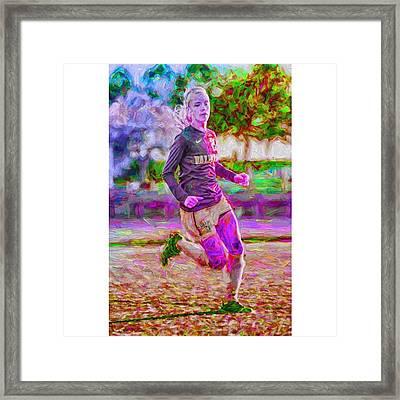 @jfassbinder @valpo #valpo #jfassbinder Framed Print