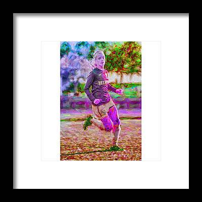 Athletes Framed Prints