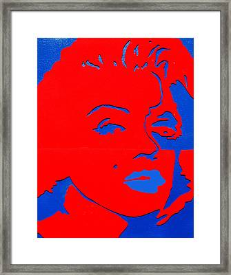 Jfk And The Other Woman Framed Print