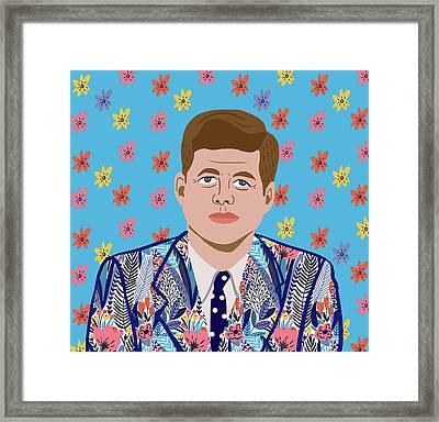 JFK Framed Print by Nicole Wilson