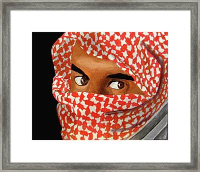 Jihadi Framed Print by Darren Stein