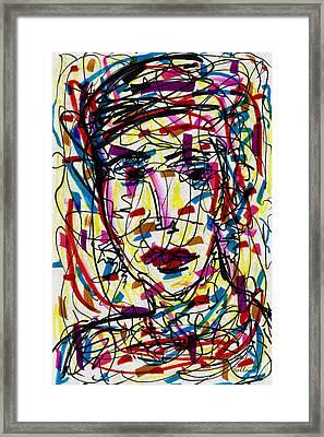 Jill Framed Print