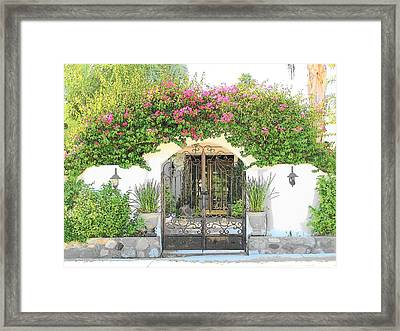 Jillians Gate Framed Print
