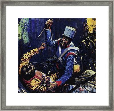 Jim Bowie Is Said To Have Been The Last Texan Alive At The Alamo  Framed Print