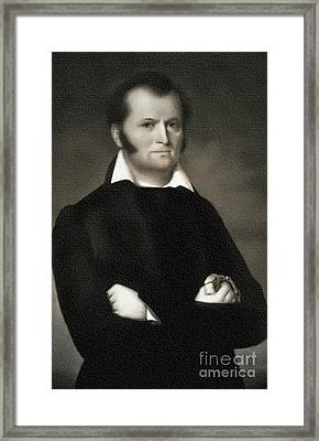 Jim Bowie - The Alamo Framed Print