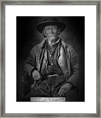 Jim Bridger Framed Print by John Feiser