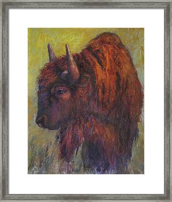 Jim Brown Framed Print by Susan Williamson