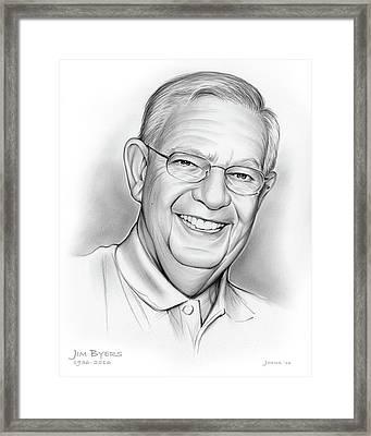 Jim Byers Framed Print