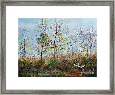 Jim Creek Lift Off Framed Print