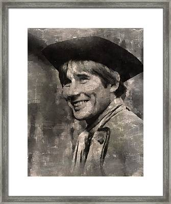 Jim Dale, Carry On Actor Framed Print by Mary Bassett