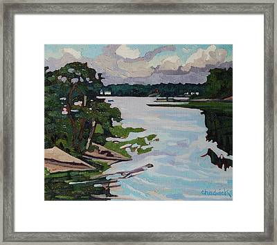 Jim Day Morning Framed Print by Phil Chadwick