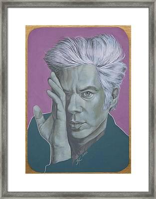Jim Jarmusch Framed Print by Jovana Kolic