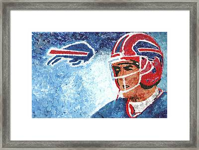 Jim Kelly Framed Print by William Bowers