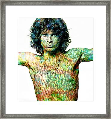 Jim Framed Print