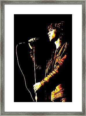 Jim Morrison Framed Print by DB Artist
