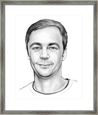 Jim Parsons Framed Print