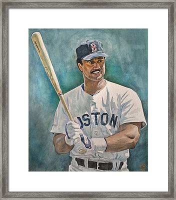 Jim Rice Framed Print