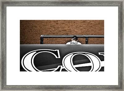 Jim Tracy Rockies Manager Framed Print by Marilyn Hunt