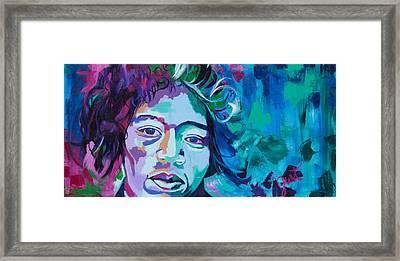 Jimi 2 Framed Print
