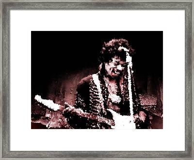 Jimi  Framed Print