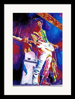 Monterey Pop Festival Framed Prints
