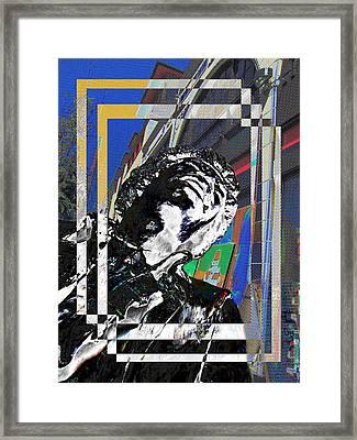 Jimi Hendrix 3 Framed Print by Tim Allen