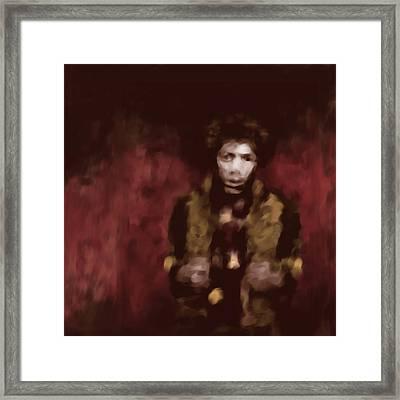 Jimi Hendrix 550 3 Framed Print