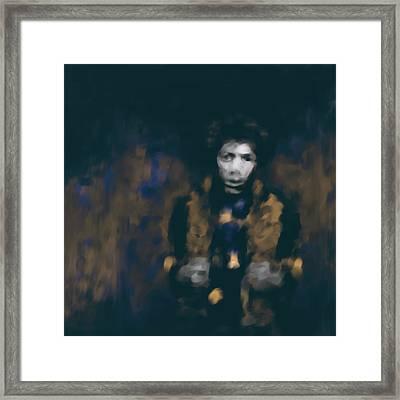 Jimi Hendrix 550 4 Framed Print