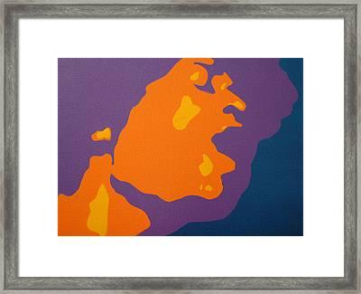 Jimi Hendrix Framed Print by Michael Ringwalt