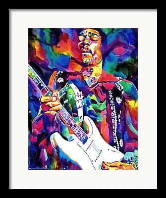 Hendrix Framed Prints