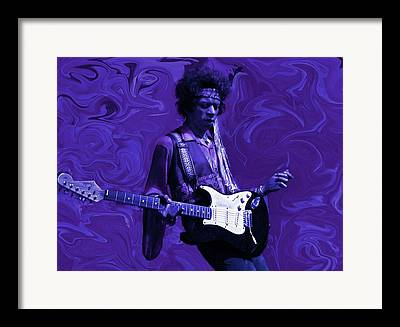 James Marshall Jimi Hendrix Framed Prints