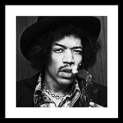Jimi Hendrix Framed Prints