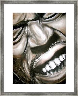 Jimi Hendrix Framed Print by Zach Zwagil