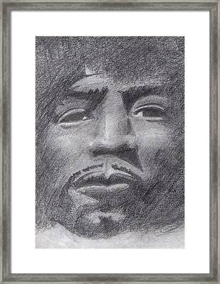 Jimi Framed Print by James Bradley