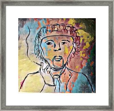 Jimi Framed Print by Jason Joseph