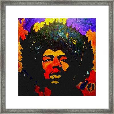 Jimi The Man Framed Print