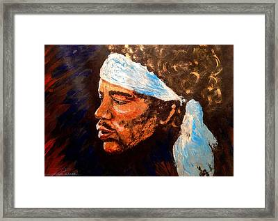 Jimi Framed Print by Zuzana Perner