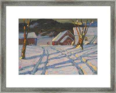 Jimmy Alibozek's Palce Framed Print