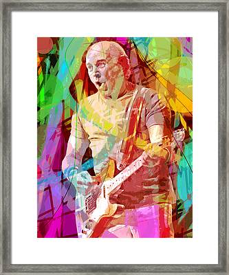 Jimmy Buffett The Pirate Framed Print by David Lloyd Glover