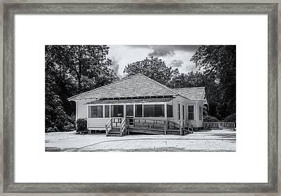 Jimmy Carter Boyhood Home Framed Print by Stephen Stookey