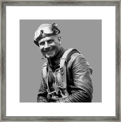 Jimmy Doolittle Framed Print by War Is Hell Store