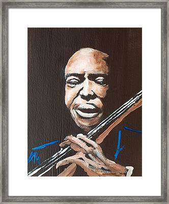 Jimmy Garrison Framed Print by Pete Maier