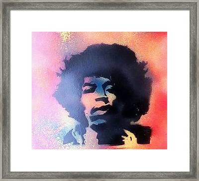 Jimmy Framed Print by My Imagination Gallery
