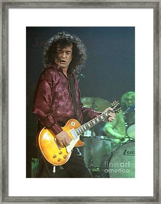Jimmy Page-0005 Framed Print