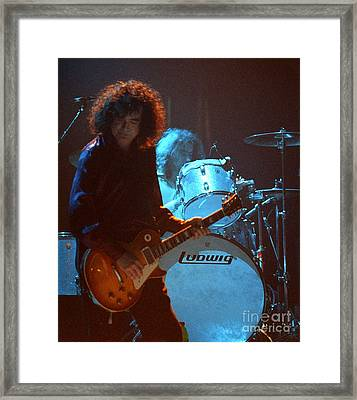 Jimmy Page-0010 Framed Print by Timothy Bischoff
