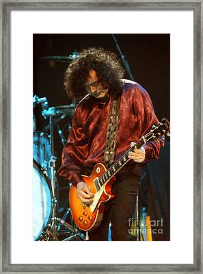 Jimmy Page-0021 Framed Print by Timothy Bischoff