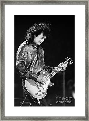 Jimmy Page-0023 Framed Print by Timothy Bischoff