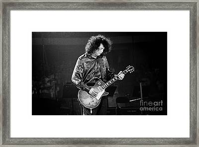 Jimmy Page-0028 Framed Print by Timothy Bischoff