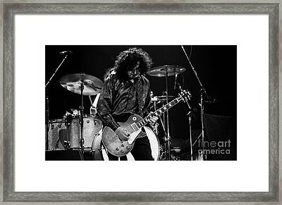 Jimmy Page-0047 Framed Print by Timothy Bischoff